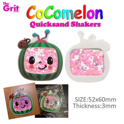 AU4.20 • Buy CoCoMelon Quicksand Shakers Hair Bowknot DIY Hair Accessories Decoration Craft