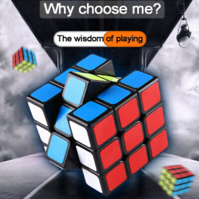 AU10.52 • Buy Rubiks Cube 3x3x3 Speed Magic Cube  Durable Smooth Game Classic Puzzle AU NEW