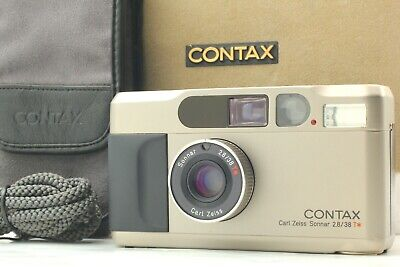$ CDN1062.32 • Buy [EXC+++++ In Box] Contax T2 35mm Silver Point & Shoot Film Camera From JAPAN
