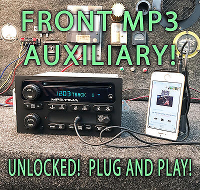 $294 • Buy 03 04 05 CHEVY SIERRA TAHOE YUKON STEREO RADIO MP3 CD Player AUXILIARY AUX JACK