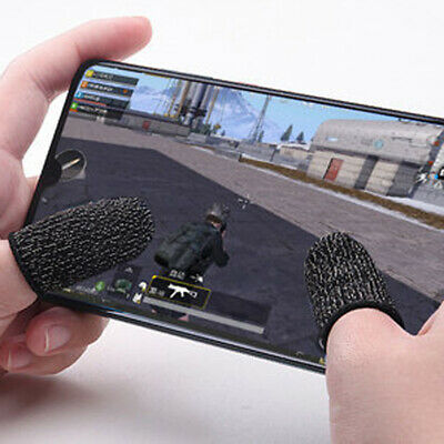 AU9.21 • Buy 1 Pair Mobile Finger Sleeve Sensitive Touch Screen Game Controller Gloves New GX