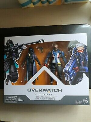 AU60 • Buy Hasbro Overwatch Ultimates Shrike Ana & Soldier 76 Action Figure 2-Pack In Stock