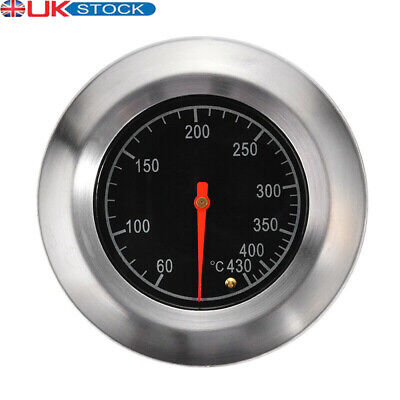£5.49 • Buy BBQ Grill Stainless Steel Thermometer Barbecue Temperature Gauge 60°C-430°C