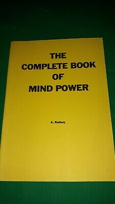 £20 • Buy  The Complete Book Of Mind Power By A.Rodney, Finbarr Books