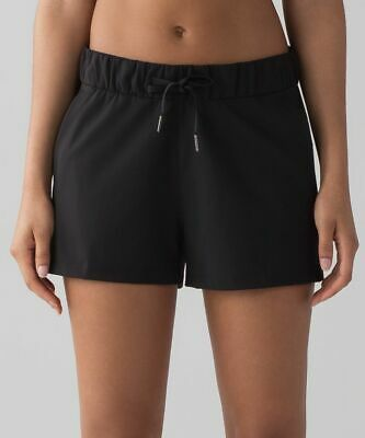 $ CDN55 • Buy Lululemon On The Fly Short Black Size 12
