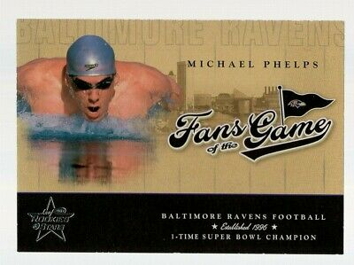 $149.99 • Buy Michael Phelps 2004 Leaf Rookies & Stars Fans Of The Game Rc Fg-2 Olympic Great!