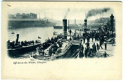 1896 Paddle Steamers Daniel Adamson Benmore & Clutha Ferry • 1£