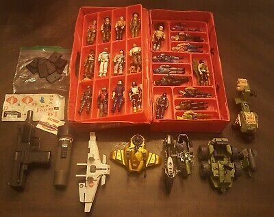 $ CDN125.52 • Buy Vintage Lot Of GI Joe Figures And Small Vehicles