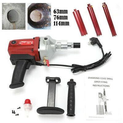Diamond Core Bit Saw Hole Cutter Drilling Tool Tile Concrete Drill Marble Opener • 30.18£