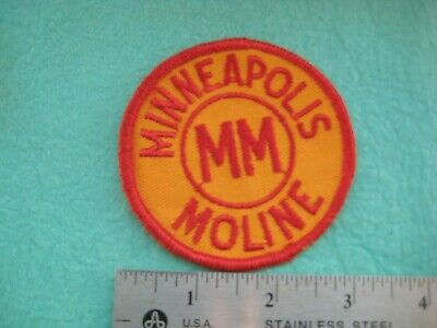 AU23.27 • Buy Vintage Early Minneapolis Moline Tractor Farm Implements Equipment Patch