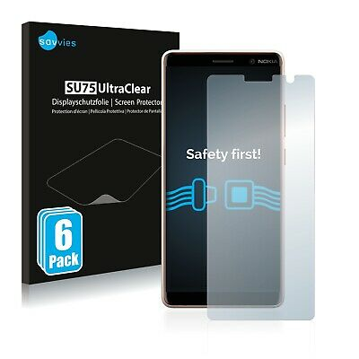AU5.16 • Buy 6x Screen Protector For Nokia 7 Plus Plastic Film Invisible Shield Protection