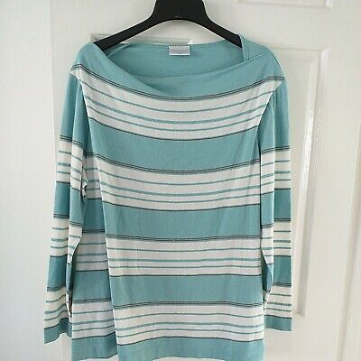 Cotswold Collection Fine Knit Green Striped Jumper UK 3XL • 4.99£