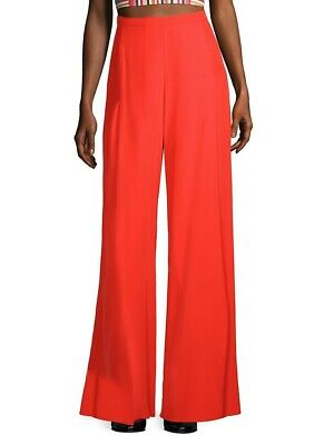 River Island Orange Palazzos With Zip Wide Leg Culottes Trouser UK 8 • 4.25£