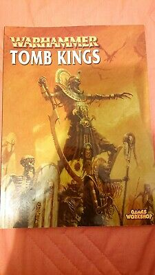 Warhammer Tomb Kings Army Book • 15£