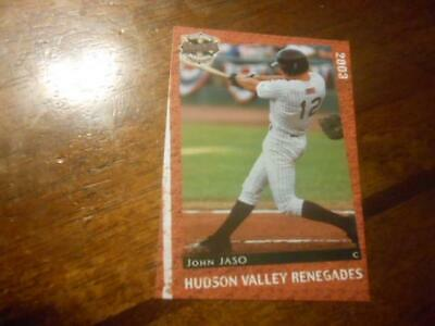 AU2.67 • Buy 2003 HUDSON VALLEY RENEGADES Single Cards YOU PICK FROM LIST $1-$2 Each OBO