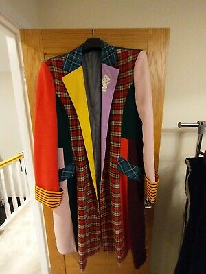 Doctor Who 6th Doctor Cosplay Coat And Trousers 2XL • 139.99£