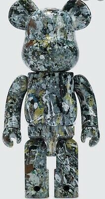 $293.70 • Buy Jackson Pollock Bearbrick,Artist Set,Ver2,400%+100%SOLD OUT.Never Displayed