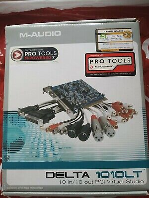 $130 • Buy M-Audio Delta PCI DELTA 1010LT Sound Card Once Used