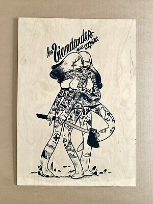 $971.36 • Buy McBess 'Les Viandardes' Print On Wood ~vinyl Toy Kaws Bearbrick Kidrobot Design