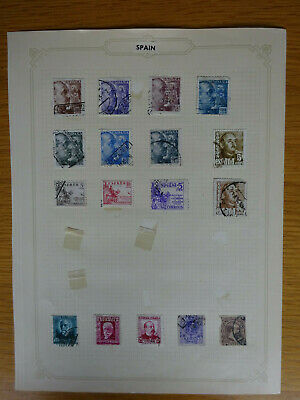 £5 • Buy Spain Stamps X 17 Various Dates Including Some General Franco