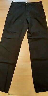 £14.99 • Buy Men's MURPHY & NYE Crew Black Cotton Chinos Americas Cup Valencia Size 33 Used