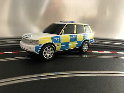 £45 • Buy Scalextric Range Rover Police Car C2808 Working Sirens And Lights Free Postage