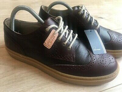 £60 • Buy NEW Mens LEATHER FRED PERRY Ox Blood BROGUES Shoes (uk9) BNWT