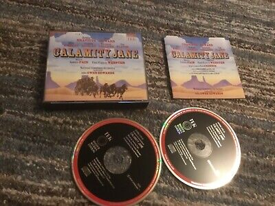 CALAMITY JANE - 1ST Complete Recording - CD X2 National Symphony Orchestra • 21.99£