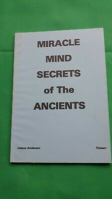 £20 • Buy Miracle Minds Secrets Of The Ancients By Jolene Anderson, Finbarr Books