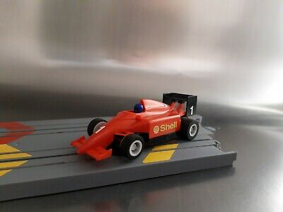 £12.50 • Buy Micro Scalextric Blue Helmet F1 Shell Car Working 1:64 Free Postage