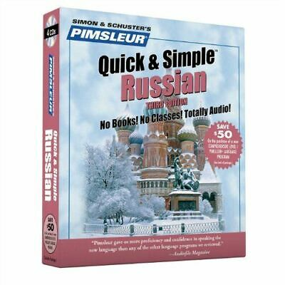 £12.90 • Buy Pimsleur, Russian, Q&S: Learn To Speak And Understand Russian With Pimsleur Lang