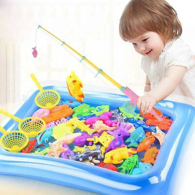 £7.29 • Buy 22Pc Magnetic Fishing Game Hook Rod Fish Miniature Angling Toy Catch Sea Classi1