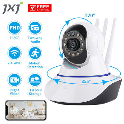 £18.89 • Buy 1080P WiFi IP Camera Home Security Baby Monitor JXJMinions CCTV Night Vision CAM