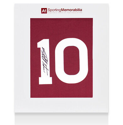 £105.99 • Buy Sir Geoff Hurst Signed West Ham Shirt - 1964 FA Cup Final, Number 10 - Gift Box