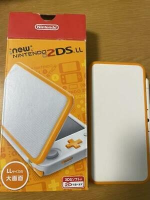 AU190.73 • Buy New Nintendo 2DS LL XL Console White X Orange With Box And 1game