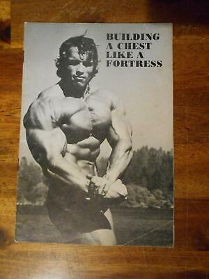 £35.39 • Buy Arnold Schwarzenegger BUILDING A CHEST LIKE A FORTRESS Bodybuilding Booklet 1975