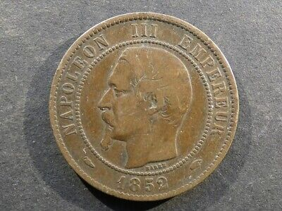 £18 • Buy France, 10 Centimes, 1852A.