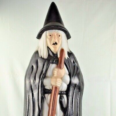 $ CDN93.74 • Buy Vintage Witch Light Up Lawn Decoration Empire Halloween Collectible W/ Broom