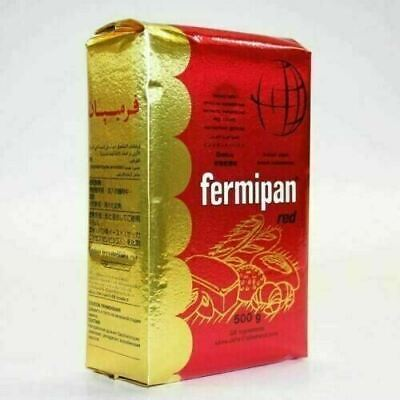 500g Fermipan Red Instant Dried Yeast For Bread Bakers Bakery • 3.90£
