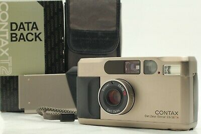 $ CDN1180.50 • Buy 【 N.MINT / Case 】 Contax T2 D Data Back 35mm Point & Shoot Film Camera JAPAN
