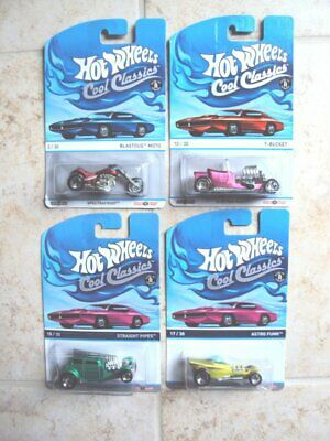 $ CDN12.49 • Buy Lot Of 4 Hot Wheels Cool Classics Spectrafrost, Carded