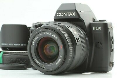 $ CDN399.92 • Buy 【 N.MINT W/ HOOD 】 Contax NX 35mm SLR Film Camera + Sonnar T* 28-80mm Lens JAPAN