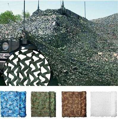 Camouflage Net Camo Netting Army Camping Shooting Hunting Hide Woodland Game Net • 11.99£
