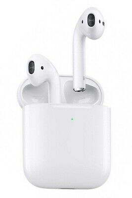 AU76.62 • Buy Apple AirPods 2nd Generation With Wireless Charging Case White Free Post UK NEW