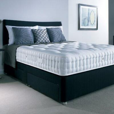 £299.99 • Buy  MEMORY FOAM DIVAN BED SET WITH MATTRESS AND HEADBOARD 3FT 4FT6 Double 5FT King