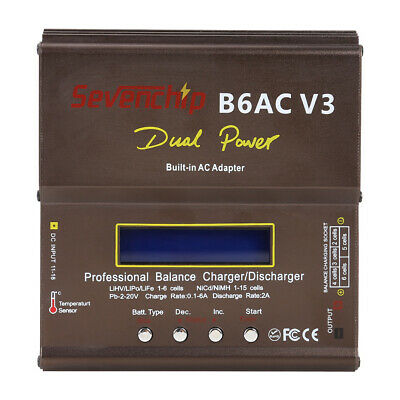 AU50.70 • Buy IMAX B6AC 80W NiMH Lipo LiHV Battery Balance Charger For RC Helicopter (EU)