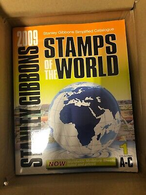 £80 • Buy Stanley Gibbons Stamps Of The World 2009 ..5 Books