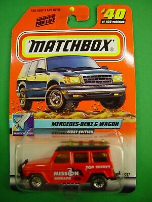 $ CDN6.06 • Buy Matchbox #40 Mercedes Benz G Wagon 1/64 Diecast Mint On Card BX62