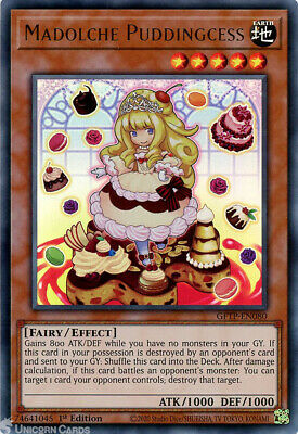 £1.25 • Buy GFTP-EN080 Madolche Puddingcess Ultra Rare 1st Edition Mint YuGiOh Card