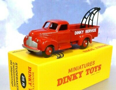 £17.95 • Buy Atlas French Dinky Toys Studebaker Recovery/wreck Truck Red Cam De Depannage 25r
